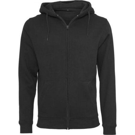 Build your Brand Heavy zip hoodie