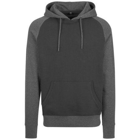 Build your Brand Raglan hoodie