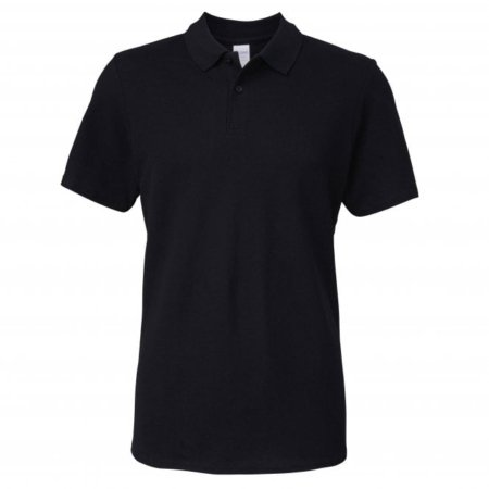Gildan Softstyle adult double piqu polo