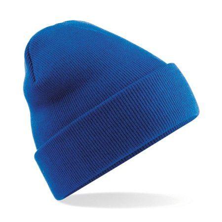 BC045 Blue 450x450 - Beechfield Original cuffed beanie