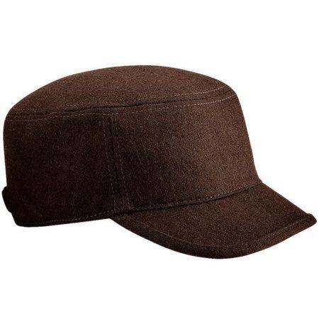 Beechfield Melton Wool Army cap