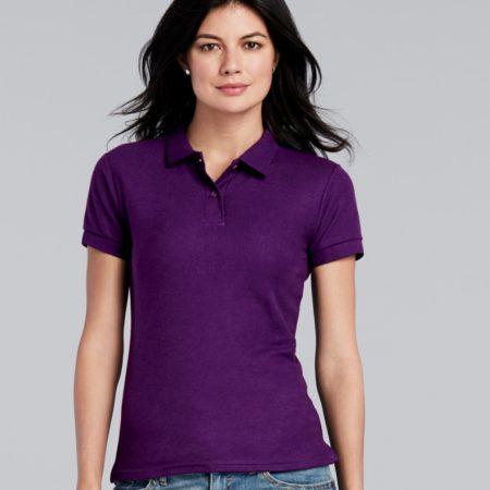 Gildan Women's DryBlend double piqu sport shirt