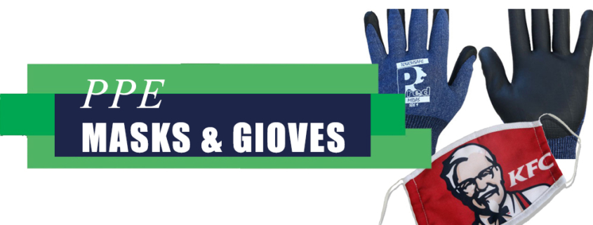 PPE Masks and Gloves