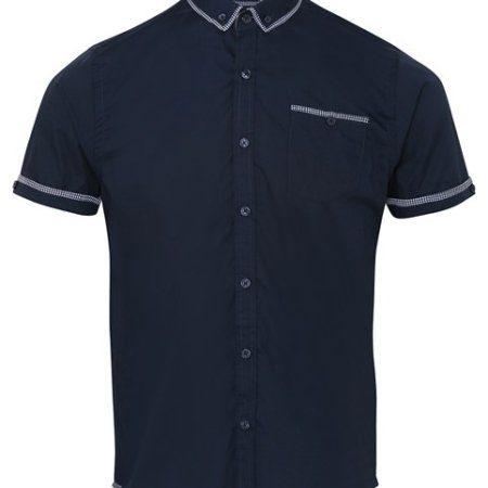 Brave Soul Colvin - short sleeve check shirt