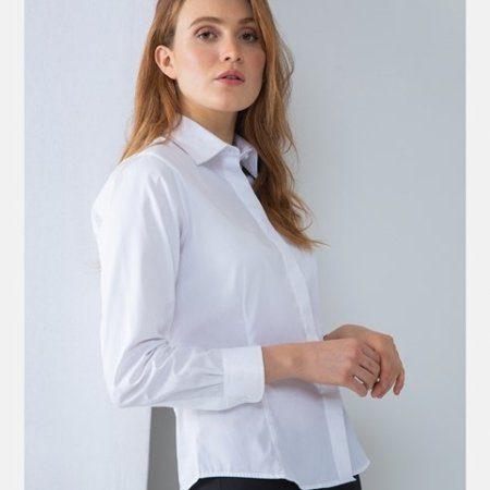 Women's long sleeve lightweight Oxford