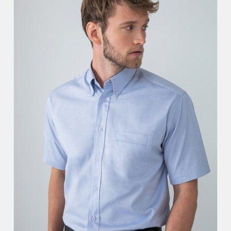 Short sleeve lightweight Oxford Shirt