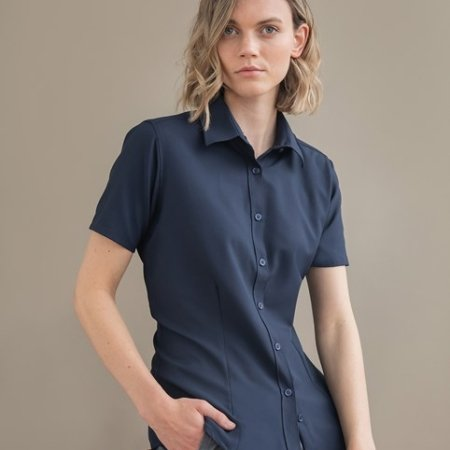 Women's wicking antibacterial short sleeve shirt